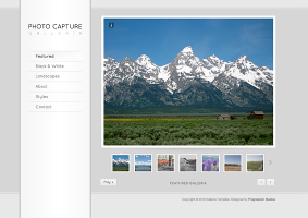 Galleria Photography Template