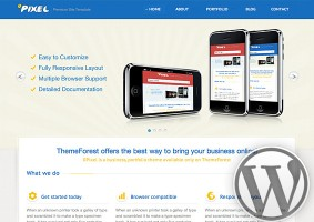0Pixel WordPress Theme