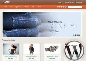 Camp WordPress Theme