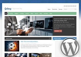 Galaxy WordPress Theme