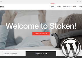 Stoken WordPress Theme