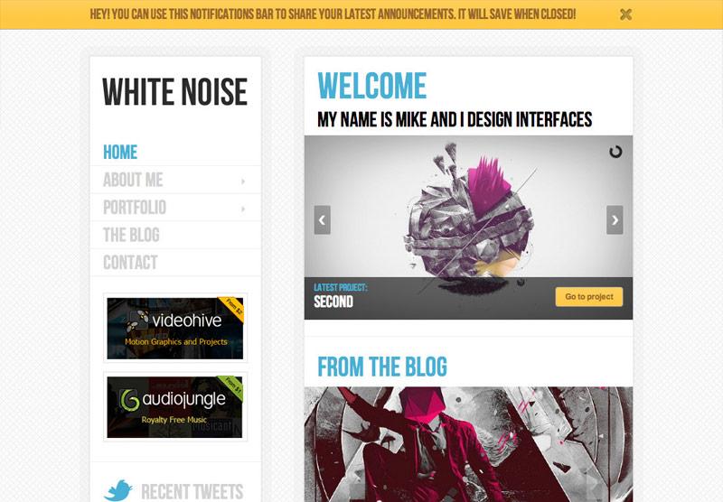 white-noise-theme